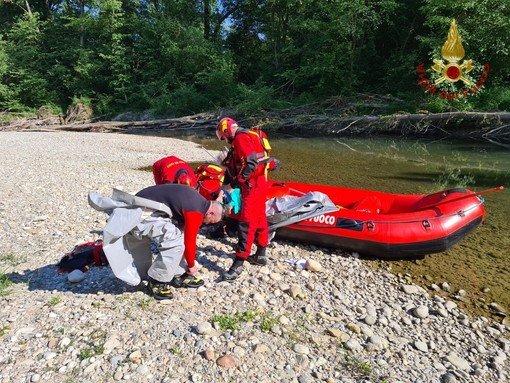 Vigevano24: Riemerso un cadavere dal Ticino.