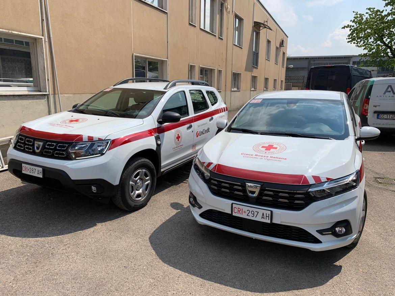 Due Nuovi veicoli per il Comitato di Vigevano della CRI