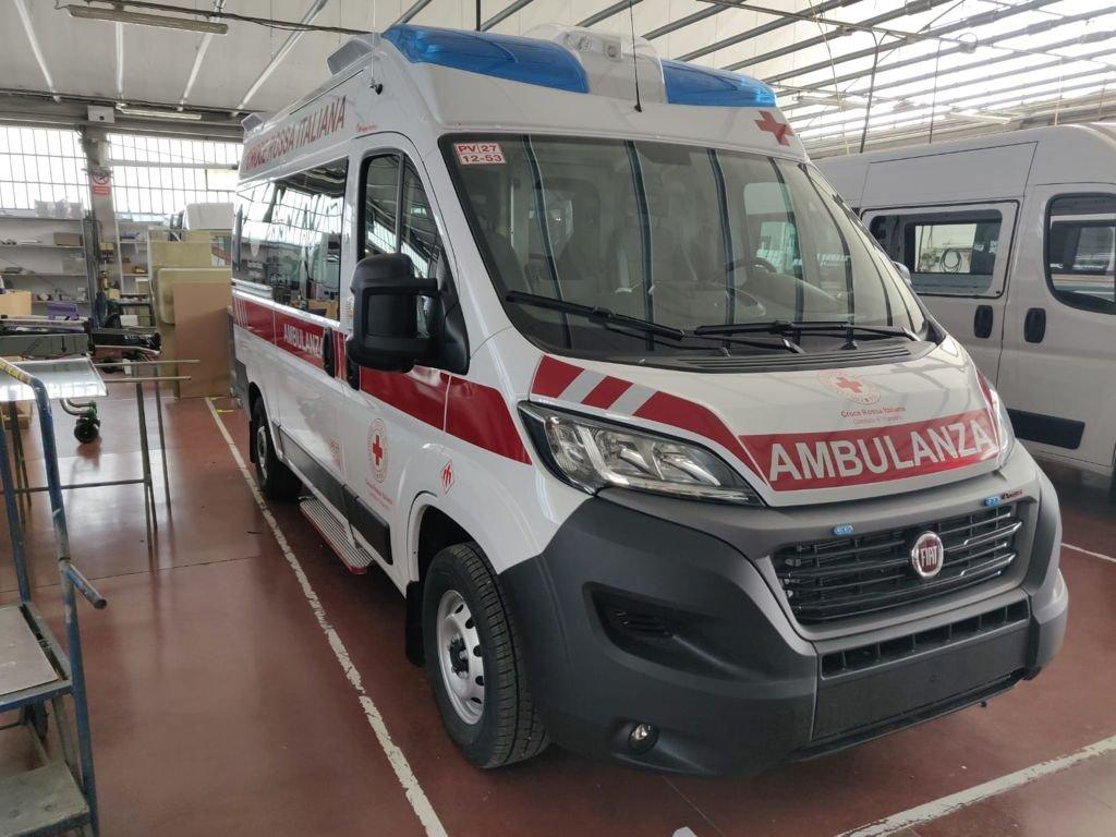 Un nuovo Centro Mobile di Rianimazione per la CRI di Vigevano