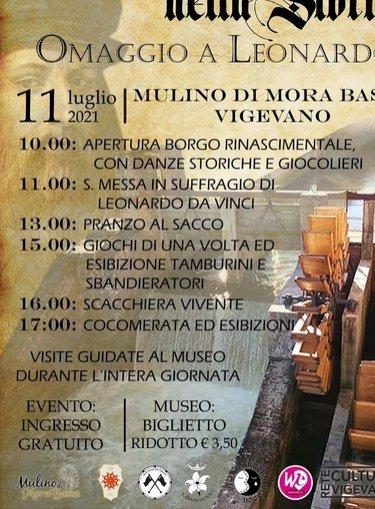 Vigevano24: Vigevano, Quattro passi nella storia omaggio a Leonardo