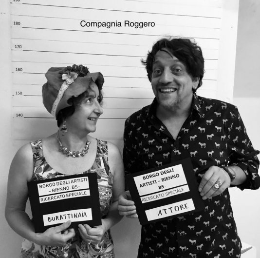 Compagnia Roggero - Teatro con Attori, Burattini, Marionette e Pupazzi