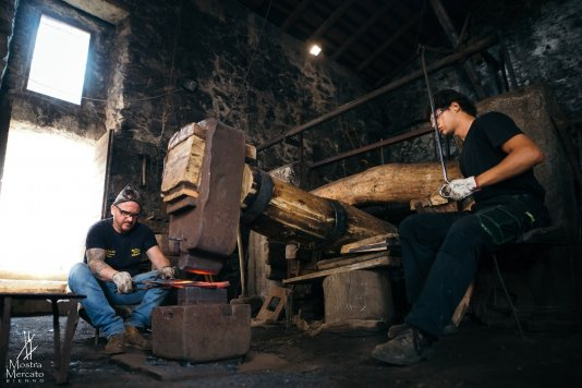 Forge museum and medieval sawmill