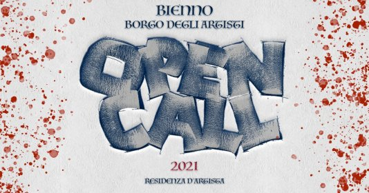 IX CONCORSO - BIENNO BORGO DEGLI ARTISTI - ANNO 2021