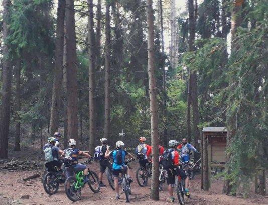 The Cerreto trails - Mountain bike