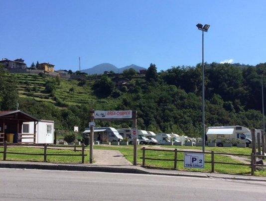Camper Area ''Valle dei malgi''