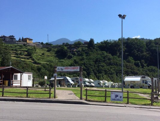 Area Camper ''Valle dei magli''