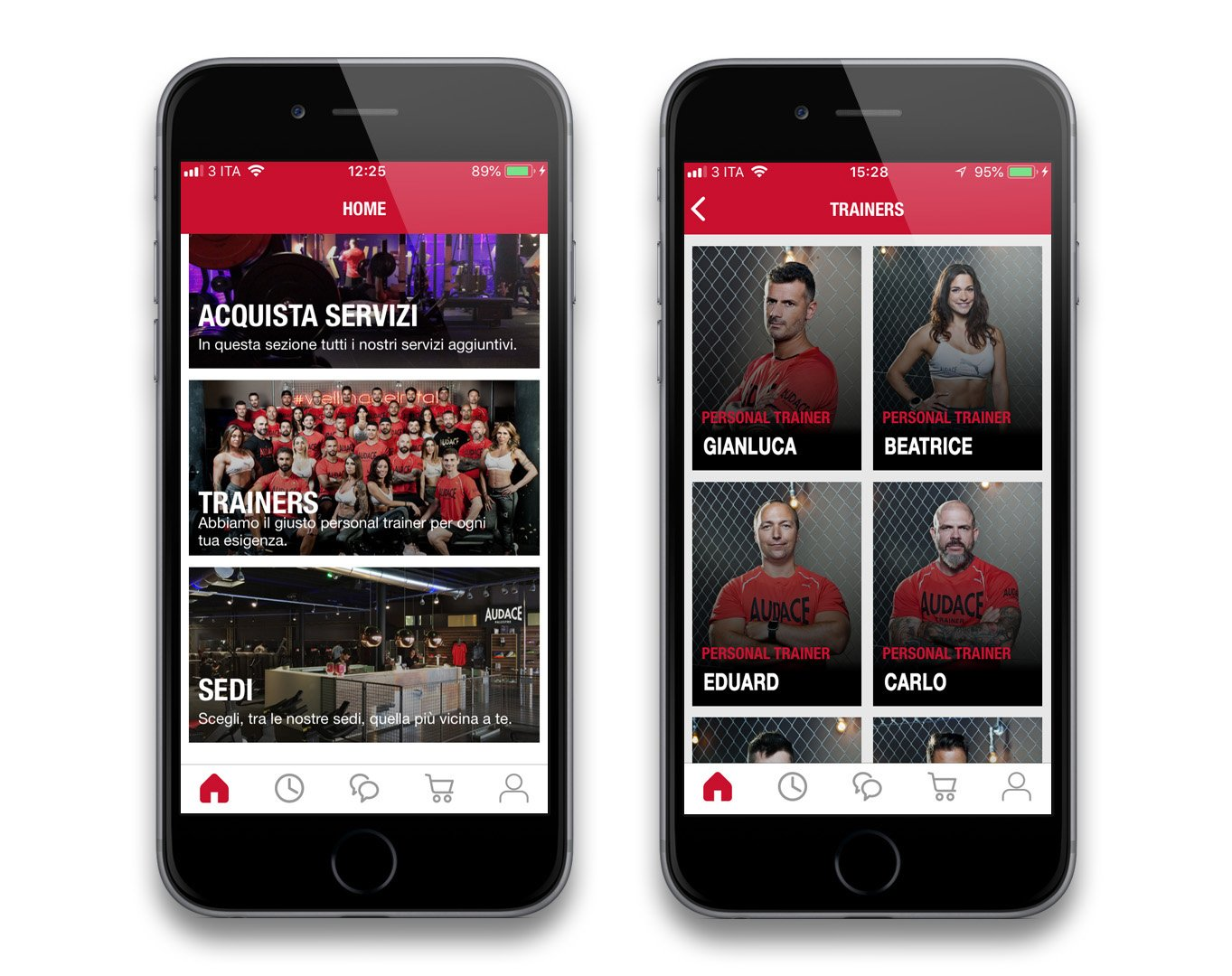 Audace App Personal Trainer