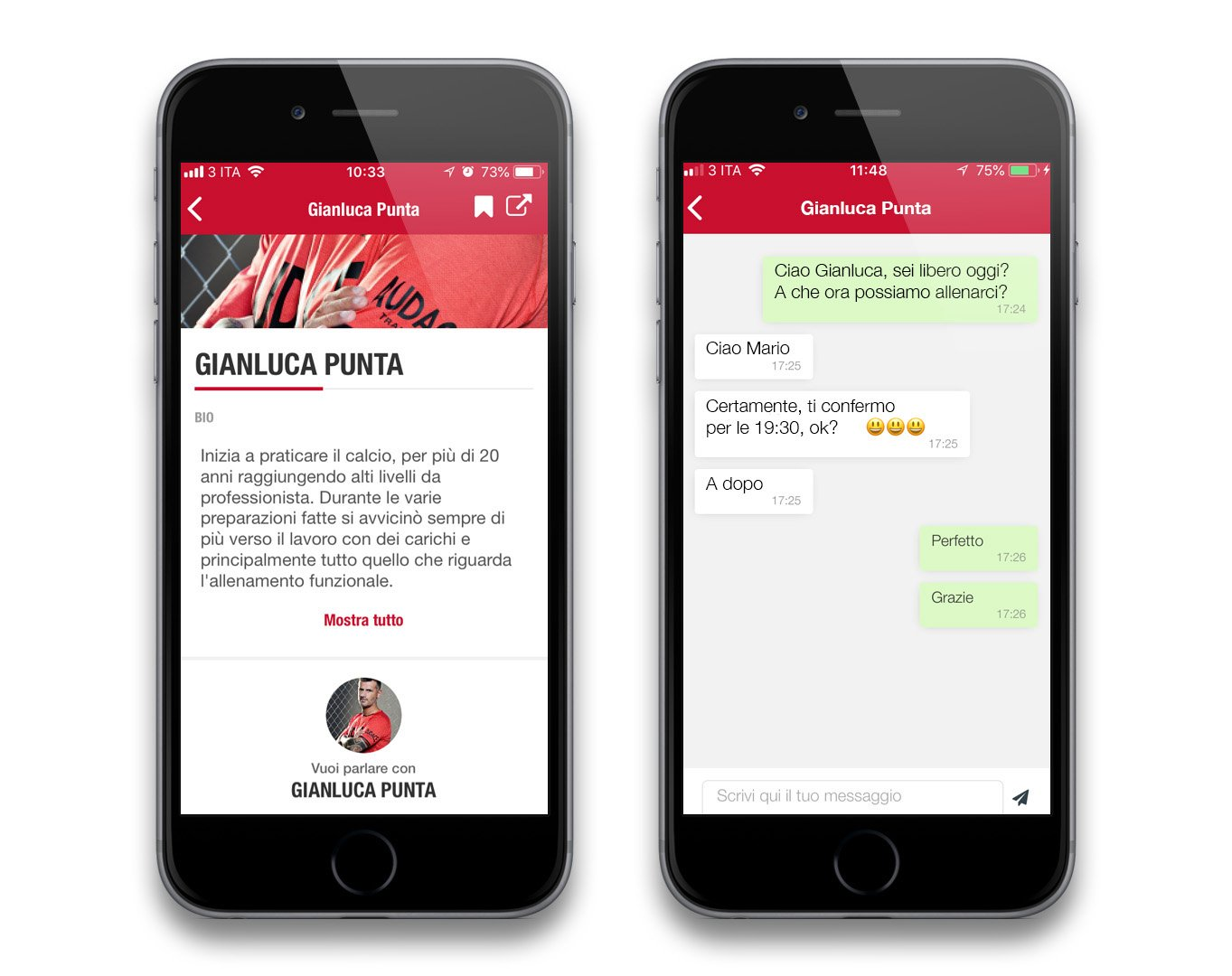 Audace App Chat Trainer