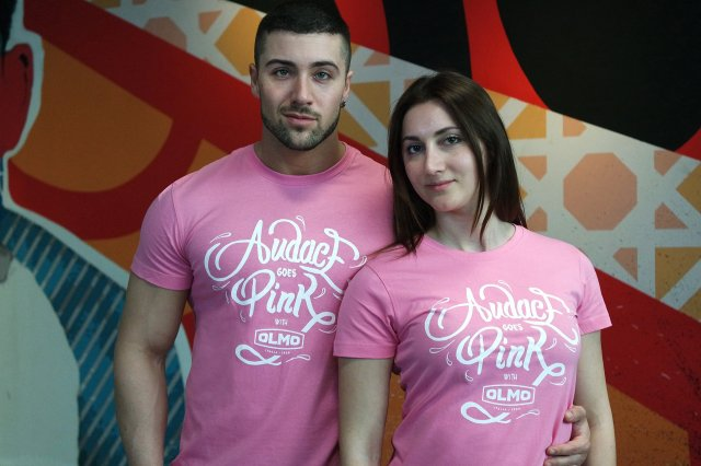 Audace goes Pink t-shirt
