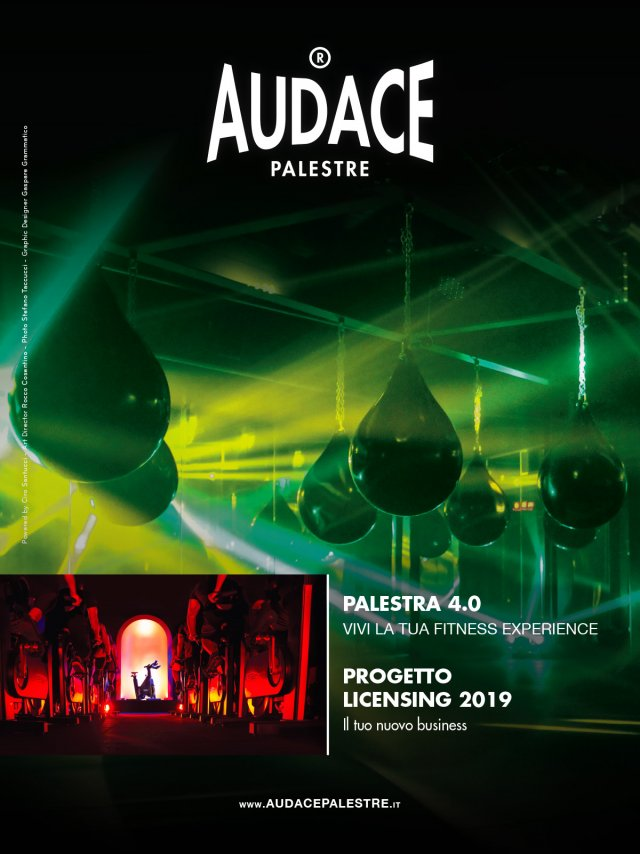 Audace Palestre GQinc ICON Marzo 2019