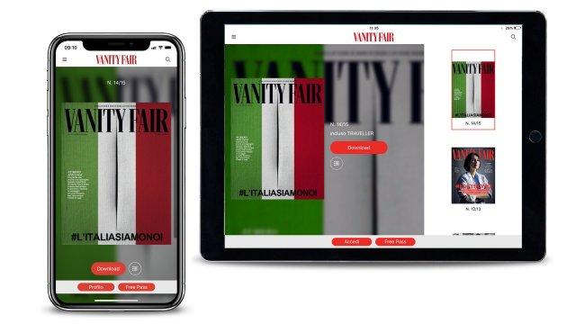Vanity Fair Speciale Guardare Avanti Audace Palestre copertina