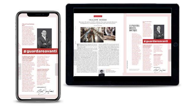 Vanity Fair Speciale Guardare Avanti Audace Palestre articolo Ciro Santucci digitale
