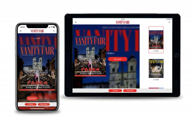 App Vanity Fair Eccellenzeitaliane