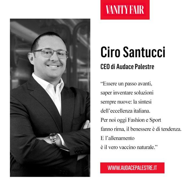 Eccellenze Italiane Vanity Fair Ciro Santucci Card