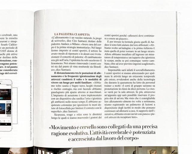 Vanity Fair Health Ciro Santucci Audace dettaglio