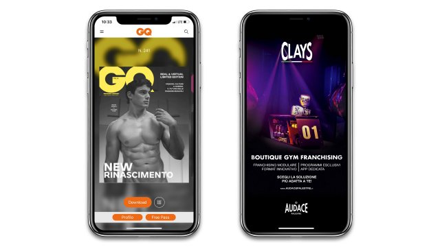 iPhone GQ cover Clays Luglio Agosto 2
