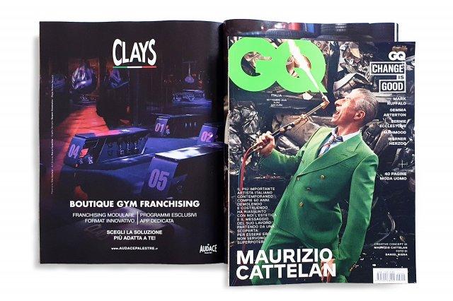 GQ Settembre Clays Audace Palestre Cover 2020