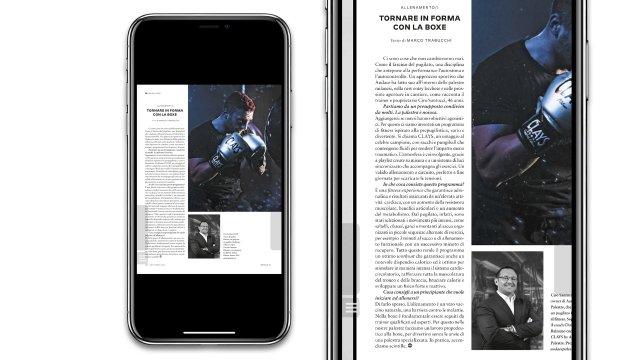 iPhone GQ 242 articolo e zoom
