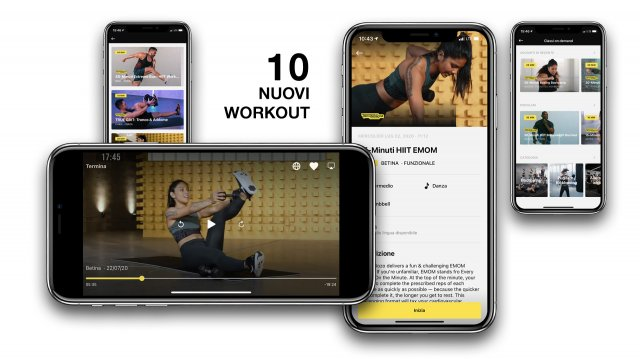 Audace Palestre On demand 10 workout