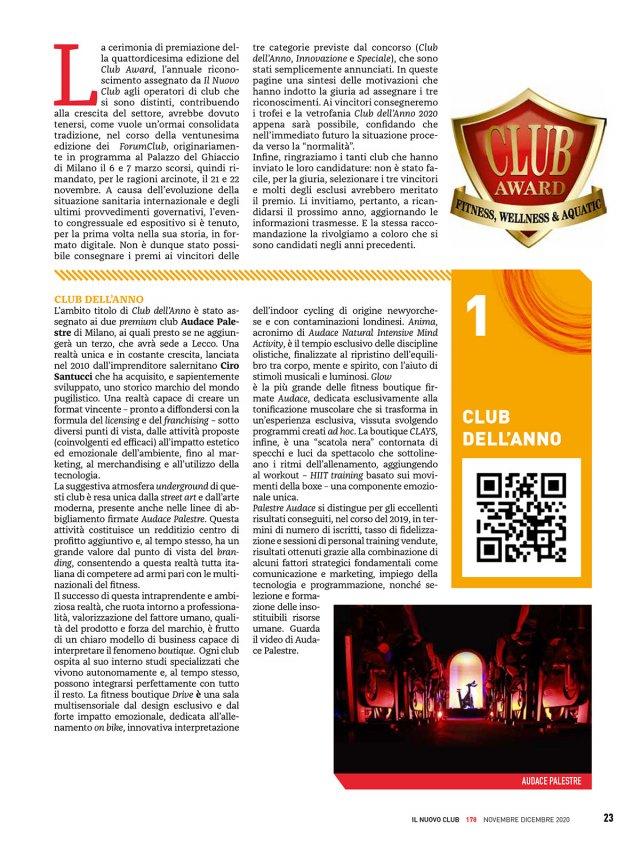 Il Nuovo Club Audace Palestre 178-23