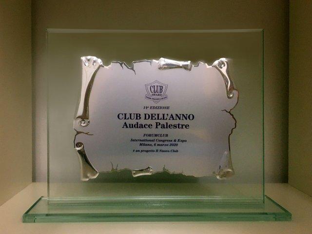 Il Nuovo Club Award Audace Palestre