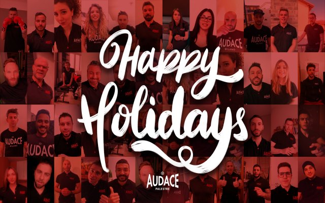 Happy Holidays Audace Palestre