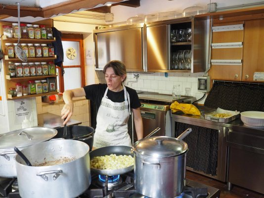 Corso di Cucina del Rifugio Pordenone