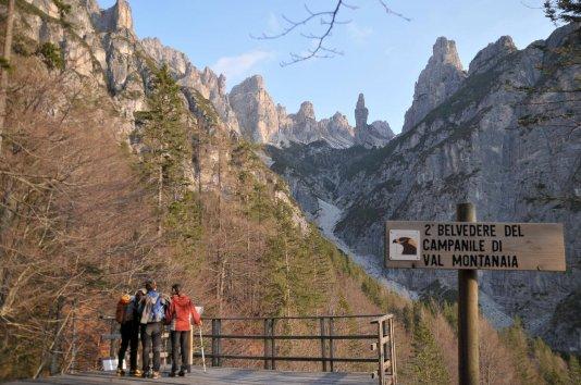 Trekking Naturalistico per Famiglie - Belvedere Campanile Val Montanaia