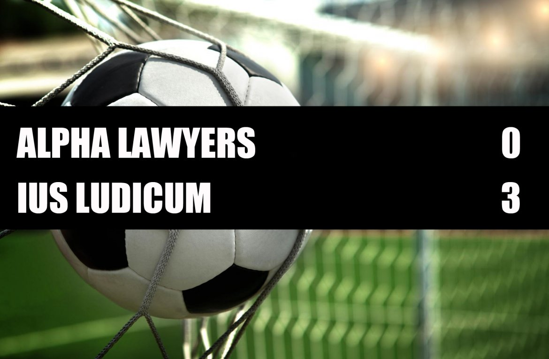 Alpha Lawyers - Ius Ludicum  0-3