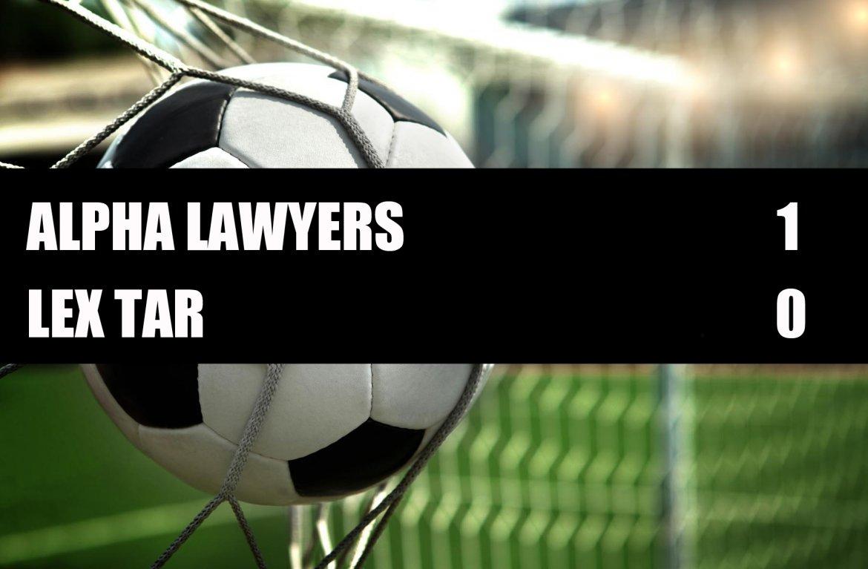 Alpha Lawyers - Lex Tar  1-0