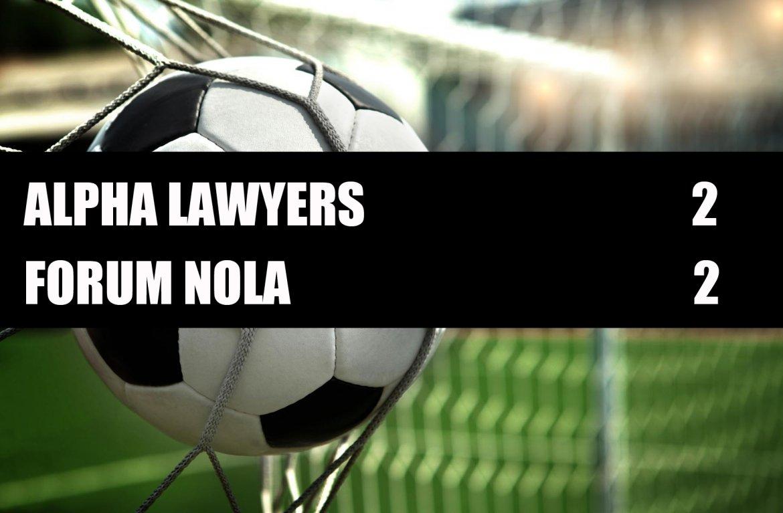 Alpha Lawyers - Forum Nola  2-2