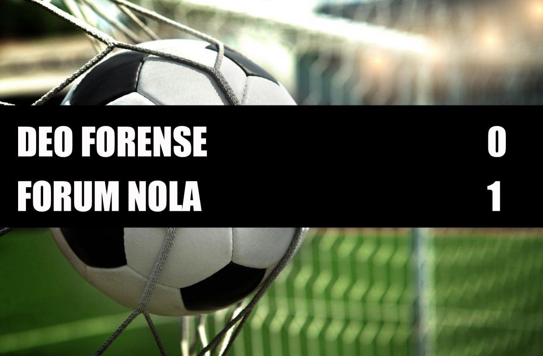 Deo Forense - Forum Nola  0-1