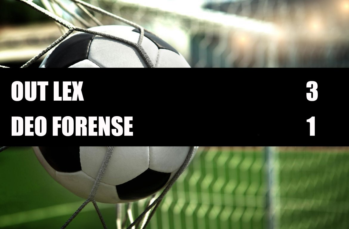 Out Lex - Deo Forense  3-1