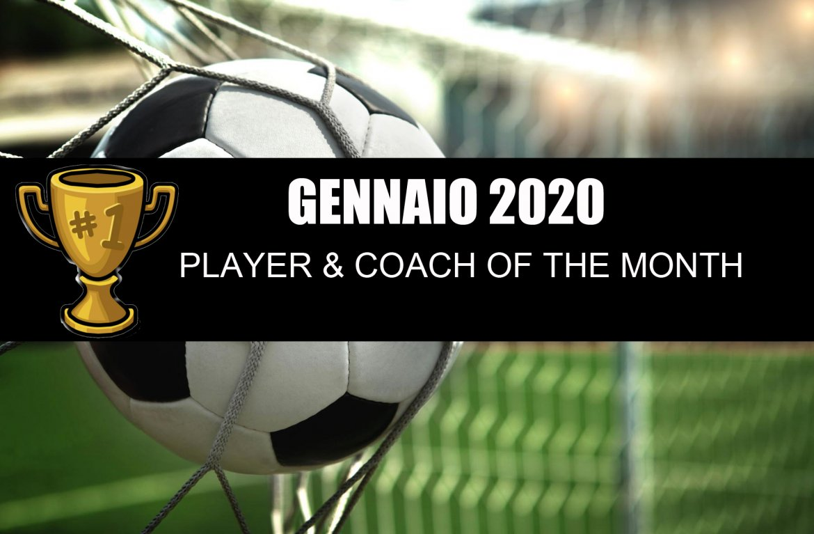 Player & Coach of the month