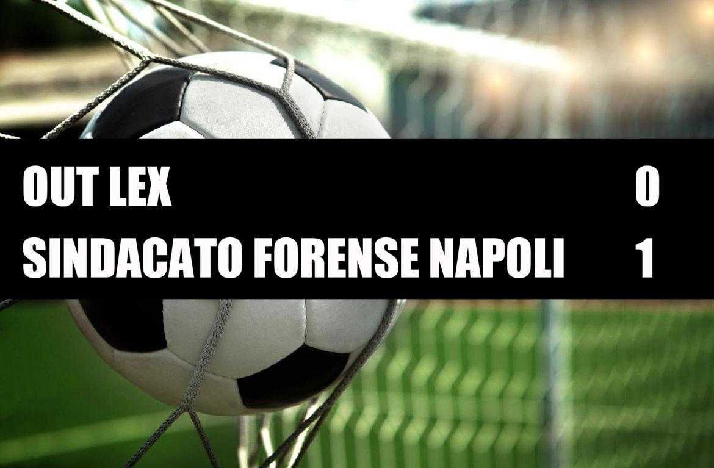 Out Lex - Sindacato Forense Napoli  0-1