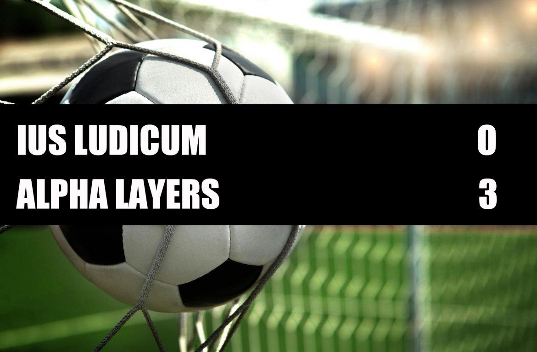 Ius Ludicum - Alpha Lawyers  0-3