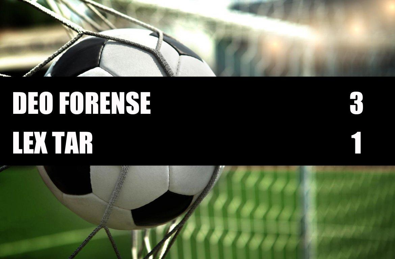 Deo Forense - Lex Tar  3-1