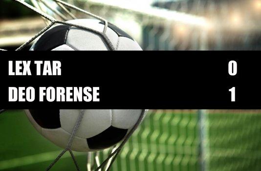 Lex Tar - Deo Forense  0-1