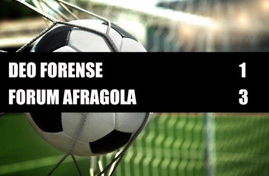 Deo Forense - Forum Afragola  1-3