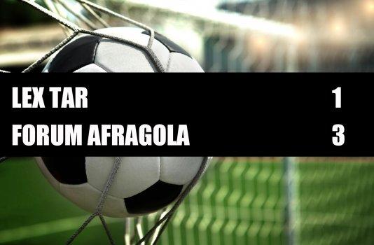 Lex Tar - Forum Afragola  1-3