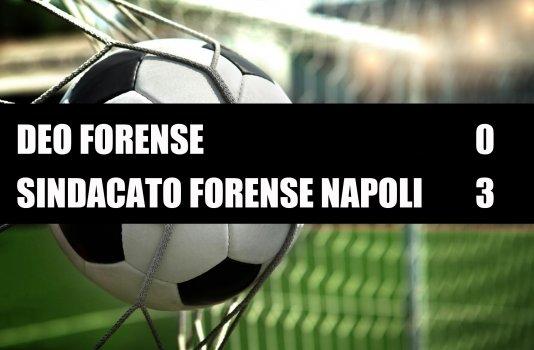 Deo Forense - Sindacato Forense Napoli  0-3