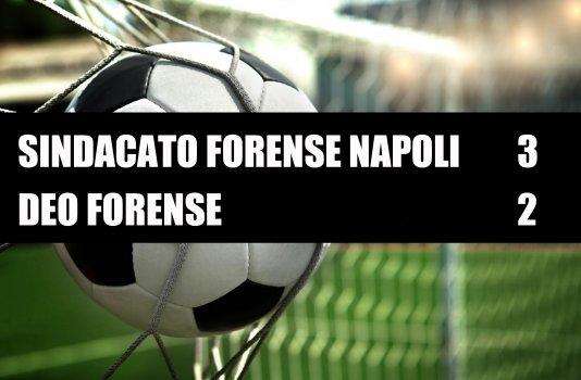 Sindacato Forense Napoli - Deo Forense  3-2