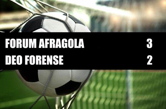 Forum Afragola - Deo Forense  3-2