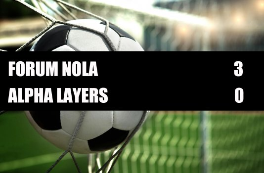 Forum Nola - Alpha Lawyers  3-0