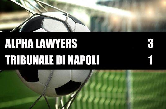 Alpha Lawyers - Tribunale di Napoli  3-1