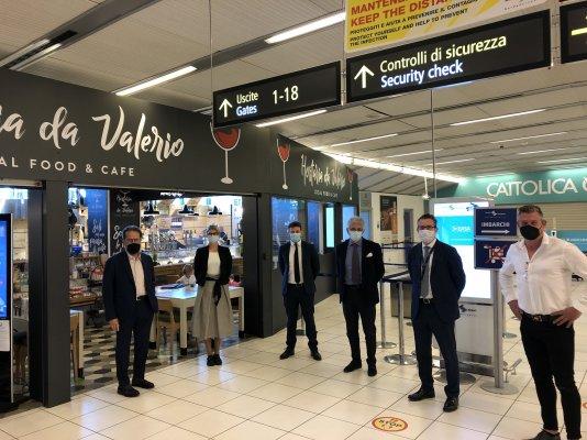 Riaperto il punto vendita dell'Aeroporto di Verona.