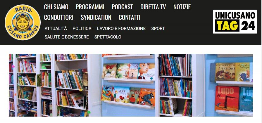 Intervista su Radio Cusano Campus